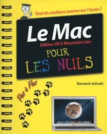 Mac, édition OS X Mountain Lion pas à pas pour les nuls - Bernard Jolivalt