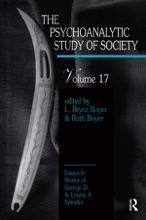 The Psychoanalytic Study Of Society, V. 17