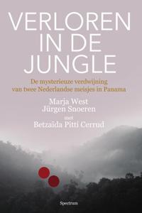 Verloren in de jungle Boekomslag