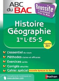 ABC DU BAC Réussite Histoire - Géographie 1re L.ES.S