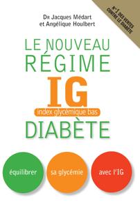 Le Nouveau régime IG (index glycémique bas) diabète La couverture du livre martien