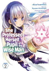 She Professed Herself Pupil of the Wise Man (Manga) Vol. 2