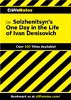 CliffsNotes On Solzhenitsyns One Day In The Life Of Ivan Denisovich