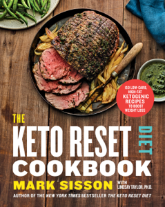 The Keto Reset Diet Cookbook Book Cover