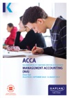 ACCA - Management Accounting MA