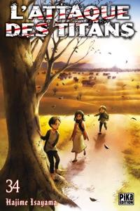 L'Attaque des Titans T34 Book Cover