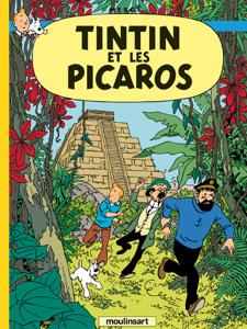 Tintin et les Picaros La couverture du livre martien