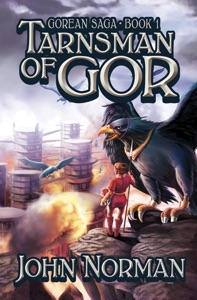 Tarnsman of Gor Book Cover