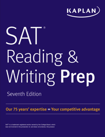SAT Reading & Writing Prep book