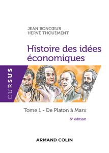 Histoire des idées économiques - 5e éd. La couverture du livre martien
