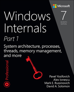 Windows Internals, Part 1: La couverture du livre martien