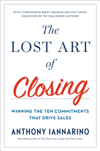 The Lost Art of Closing La couverture du livre martien