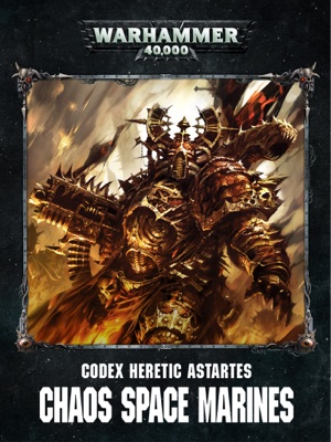 Games Workshop - Codex: Chaos Space Marines Enhanced Edition book