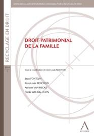 Droit Patrimonial De La Famille