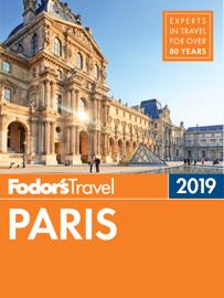 Fodor's Paris 2019 book
