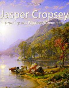 Jasper Cropsey: Drawings and Paintings Couverture de livre