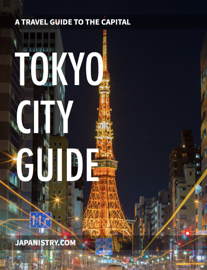 Tokyo City Guide book