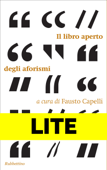 Il libro aperto degli aforismi - LITE