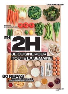 En 2h je cuisine pour toute la semaine La couverture du livre martien