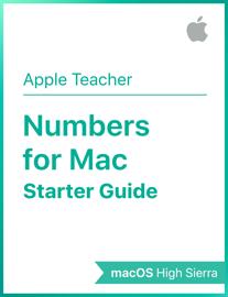 Numbers for Mac Starter Guide macOS High Sierra