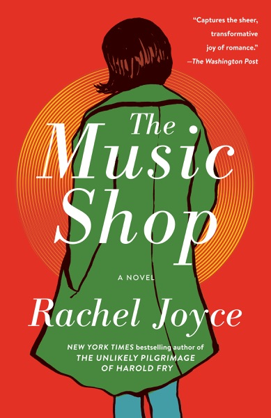 The Music Shop - Rachel Joyce book cover