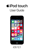 iPod touch User Guide for iOS 12.1