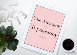 The Anatomy Of Typography