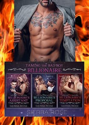 Taming The Bad Boy Billionaire Three Book Bundle