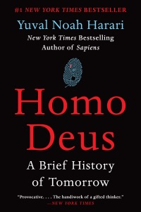 Homo Deus Book Cover