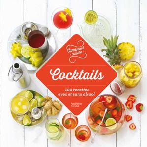 Cocktails 100 recettes avec et sans alcool La couverture du livre martien