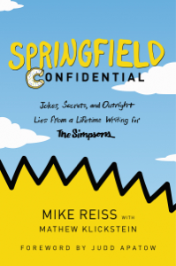 Springfield Confidential Book Cover