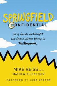 Springfield Confidential Book Cover