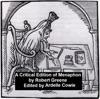 A Critical Edition of Menaphon