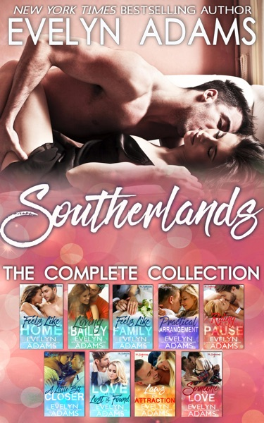 Southerlands: The Complete Collection - Evelyn Adams book cover