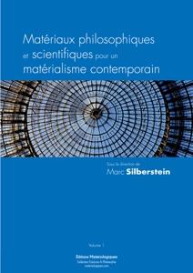 Matériaux philosophiques et scientifiques pour un matérialisme contemporain Book Cover