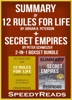 Summary of 12 Rules for Life: An Antidote to Chaos by Jordan B. Peterson + Summary of Secret Empires by Peter Schweizer 2-in-1 Boxset Bundle
