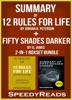 Summary Of 12 Rules For Life: An Antidote To Chaos By Jordan B. Peterson + Summary Of Fifty Shades Darker By EL James 2-in-1 Boxset Bundle
