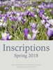 Inscriptions: Spring 2018