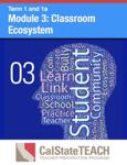 Module 3: Classroom Ecosystem