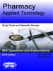 Pharmacy-Applied Toxicology - Jeanna Marraffa & Mark Pellegrini