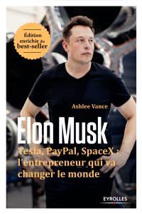 Elon Musk Couverture de livre