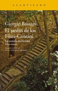 El jardín de los Finzi-Contini Book Cover