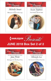 Harlequin Presents June 2018 - Box Set 2 of 2 - Michelle Smart, Jane Porter, Susan Stephens & Miranda Lee