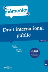 Droit international public La couverture du livre martien