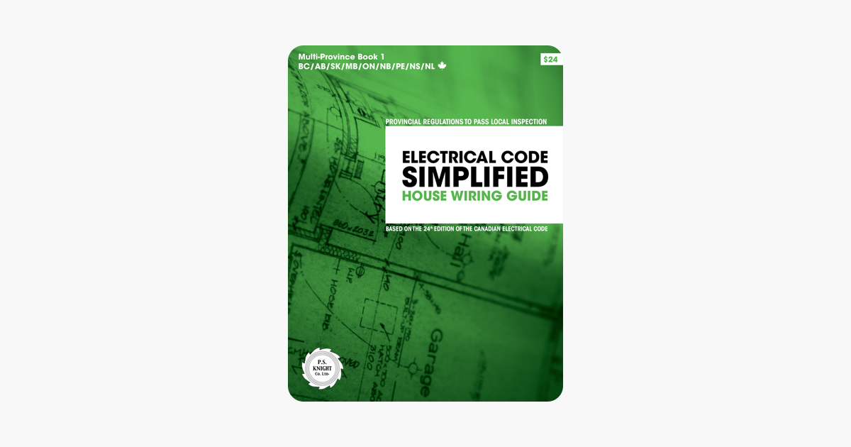 Awesome Electrical Code Simplified House Wiring Guide 24Th Code Edition Wiring Cloud Hisonuggs Outletorg