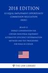 2014-05-13 Energy Conservation For Certain Industrial Equipment - Alternative Efficiency Determination Methods And Test Procedures For Walk-In Cooler US Energy Efficiency And Renewable Energy Office Regulation EERE 2018 Edition