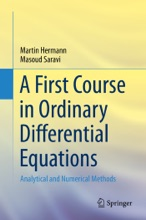 A First Course In Ordinary Differential Equations