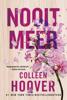 Colleen Hoover - Nooit meer artwork