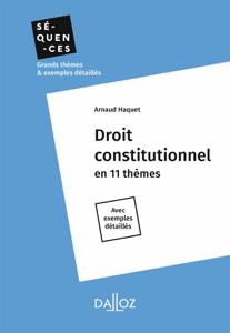 Droit constitutionnel - Intégrale La couverture du livre martien