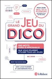 Le grand jeu du dico : 100 mots rares et improbables que vous pourriez utiliser tous les jours La couverture du livre martien